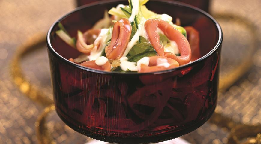Рецепт Розовые кальмары
