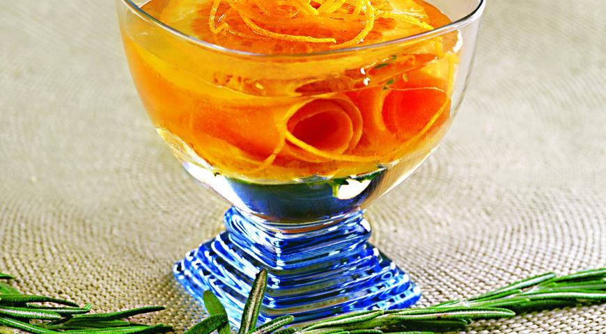 Рецепт Филе форели в апельсиновом желе