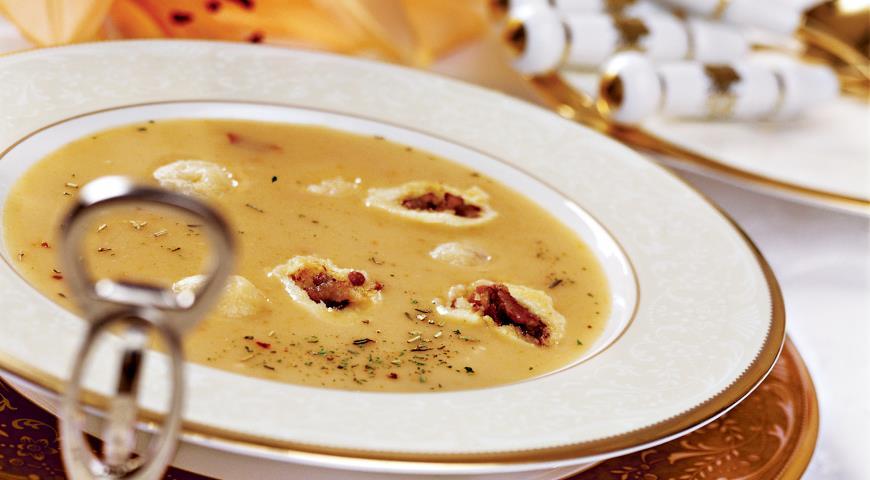 супы с картофельными клецками рецепты с фото