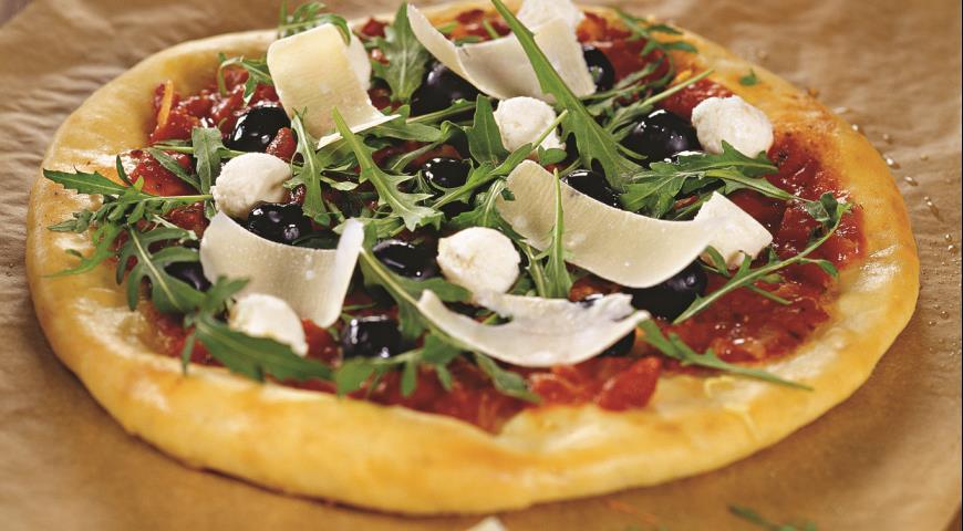 Рецепт Пицца с рукколой