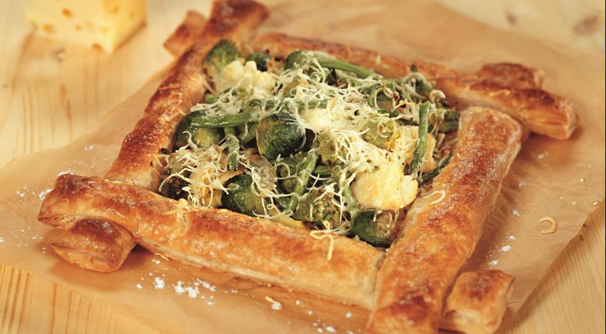 Рецепт Зимний овощной пирог