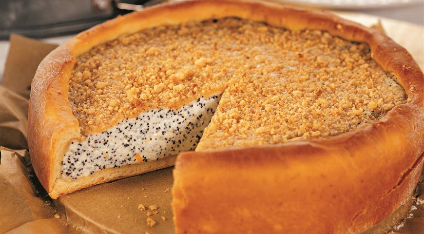 Рецепт Маково-творожный пирог