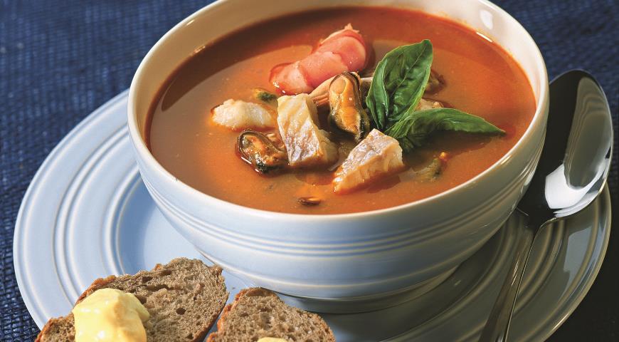 Рецепт Рыбный суп - буйабес