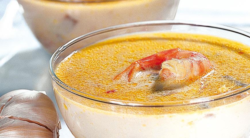 """Рецепт Тайский рыбный суп """"Том Ям"""""""