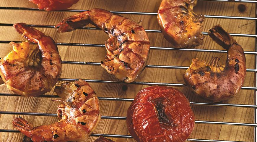 Рецепт Креветки-гриль в восточном стиле