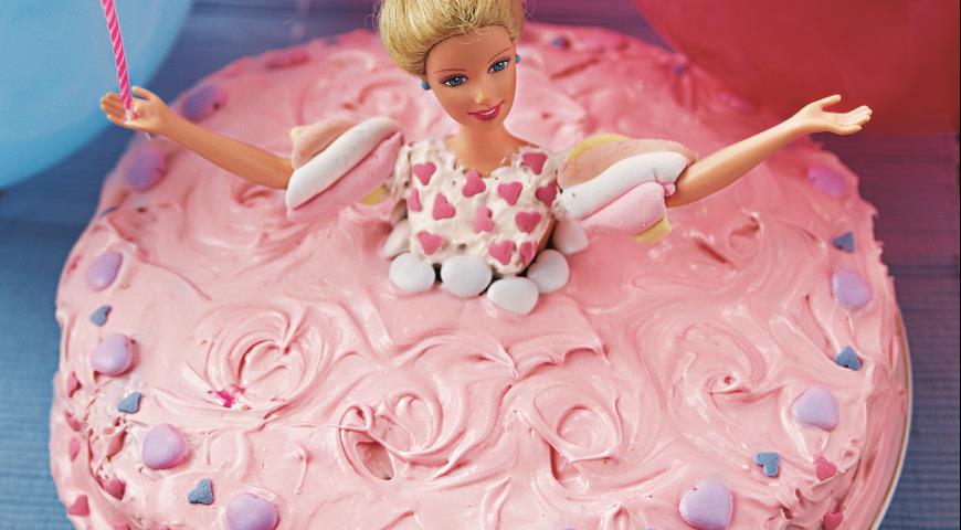 """Рецепт Торт """"Барби"""""""
