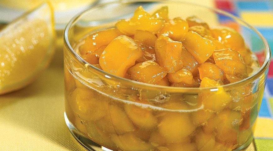 рецепт варенья с кабачками