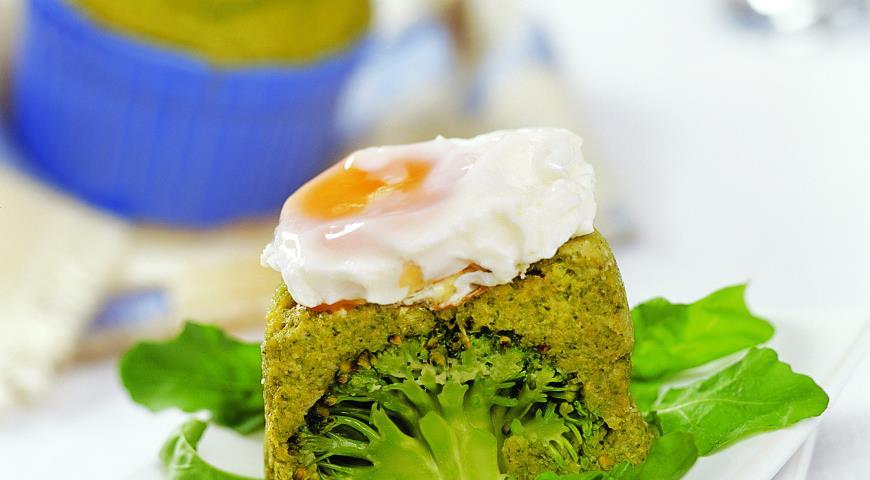 Рецепт Тимбаллино из брокколи с яйцом