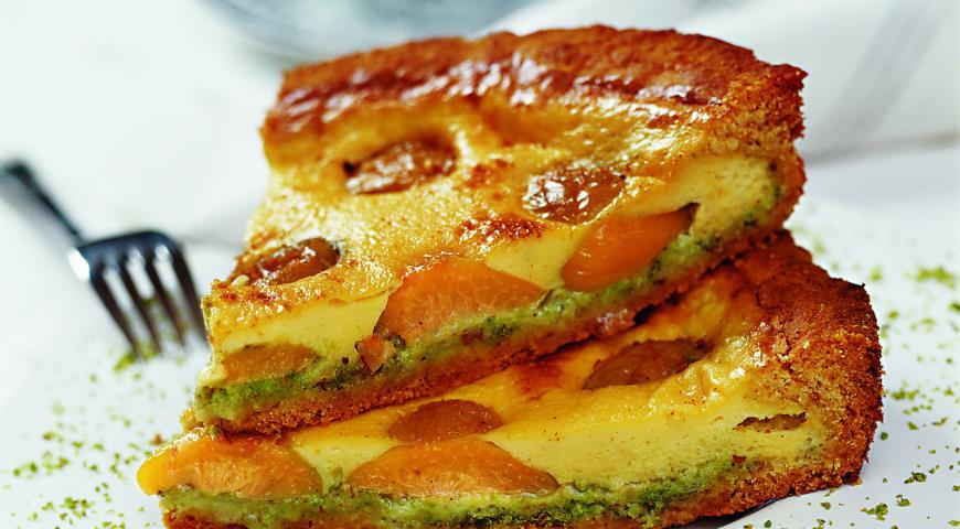 Рецепт Песочный пирог с мирабелью