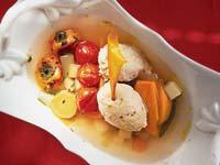 Куриный суп с клецками, пошаговый рецепт с фото