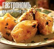 Рецепт Куриное соте с айвой