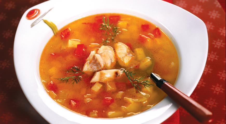Рыбный суп специи