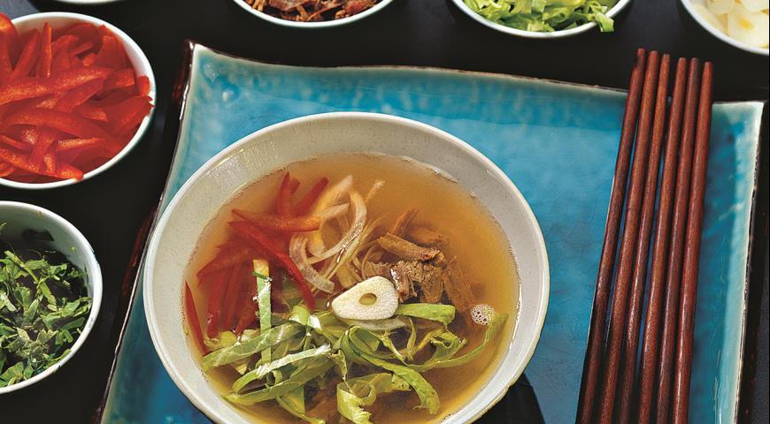 рецепт южнокорейского супа