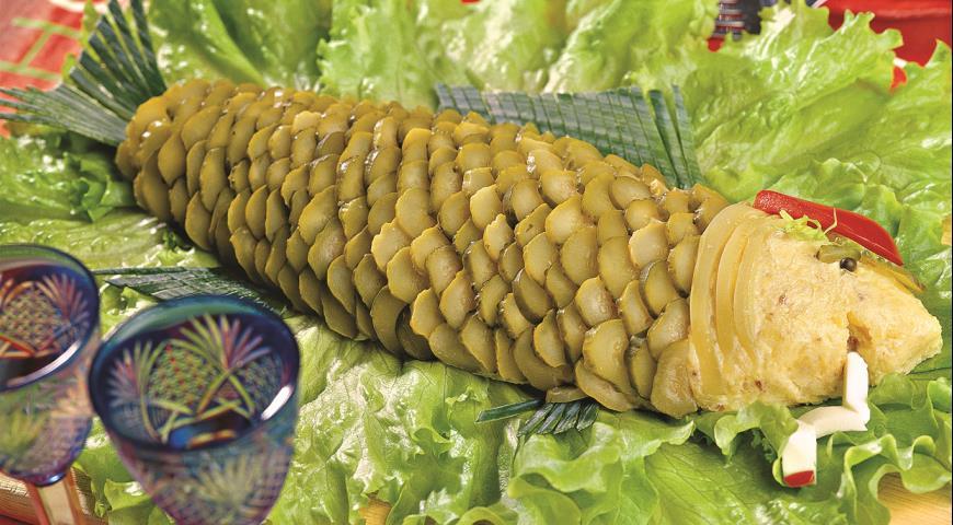 Рецепт Паштет из картофеля и сельди