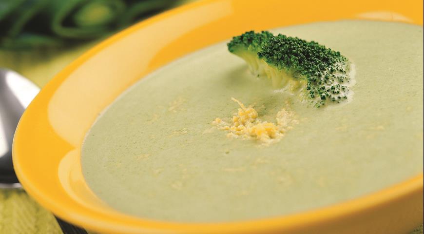 Рецепт Суп-пюре из порея и брокколи