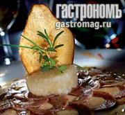 Рецепт Карпаччо из утки с фуа-гра