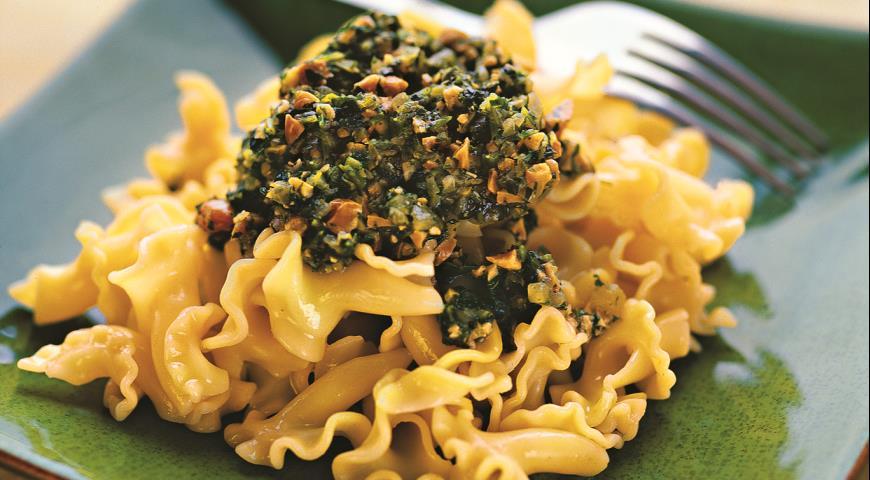 Рецепт Паста с соте из петрушки