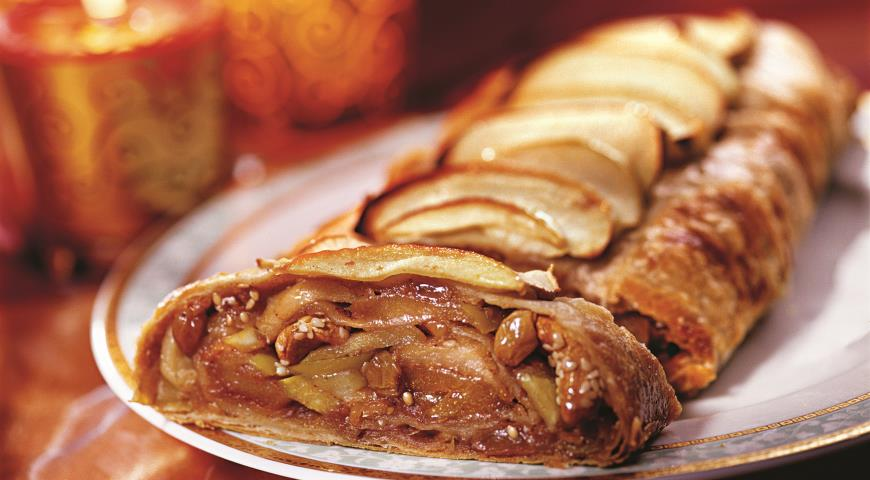 Рецепт Яблочный струдель