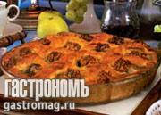 Рецепт Пирог из яблок с грецкими орехами