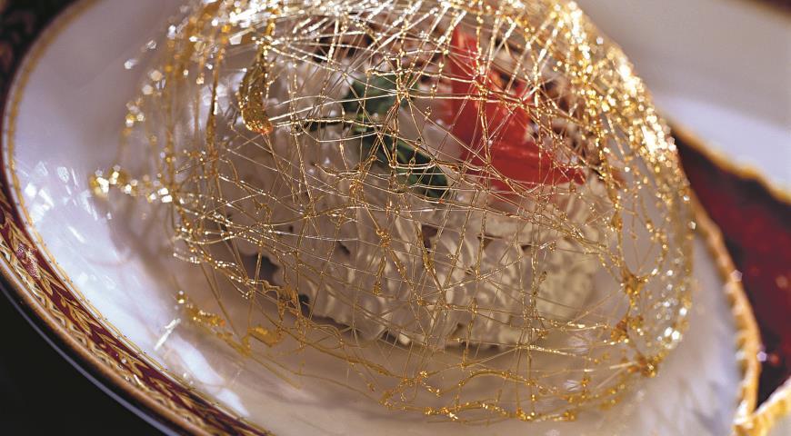Рецепт Пирог из вафель с каймаком