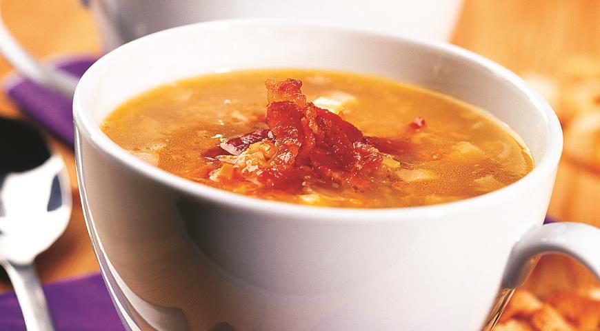 Рецепты суп гороховый с копченостями пошаговый рецепт 168