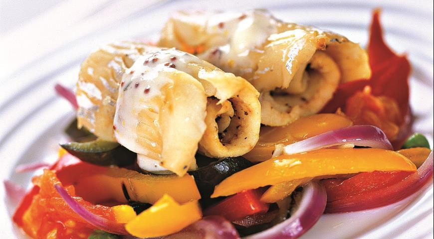 Рецепт Пикша с овощами