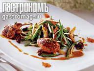 Рецепт Салат с перепелкой
