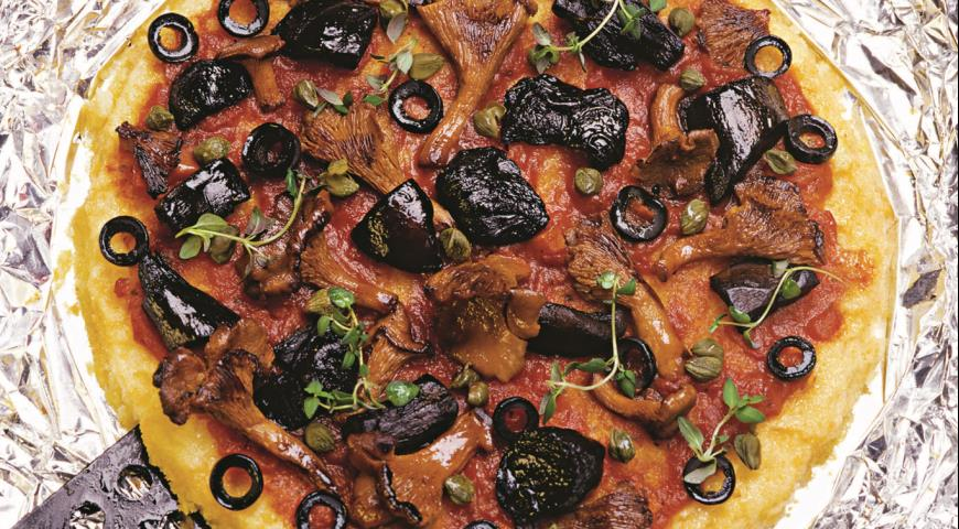 Рецепт Полента-пицца