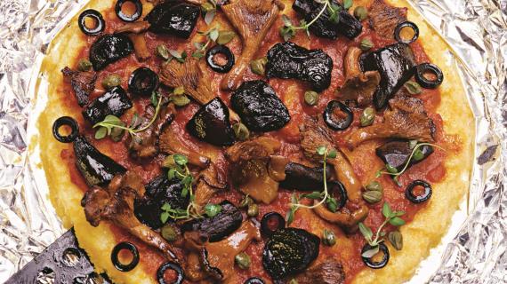 Пицца-полента
