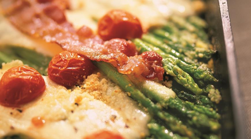 Рецепт Спаржа по-итальянски