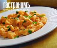 Рецепт Тыквенные ньокки с пряным маслом