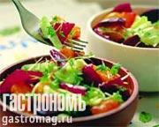 Рецепт Салат со свеклой и апельсинами