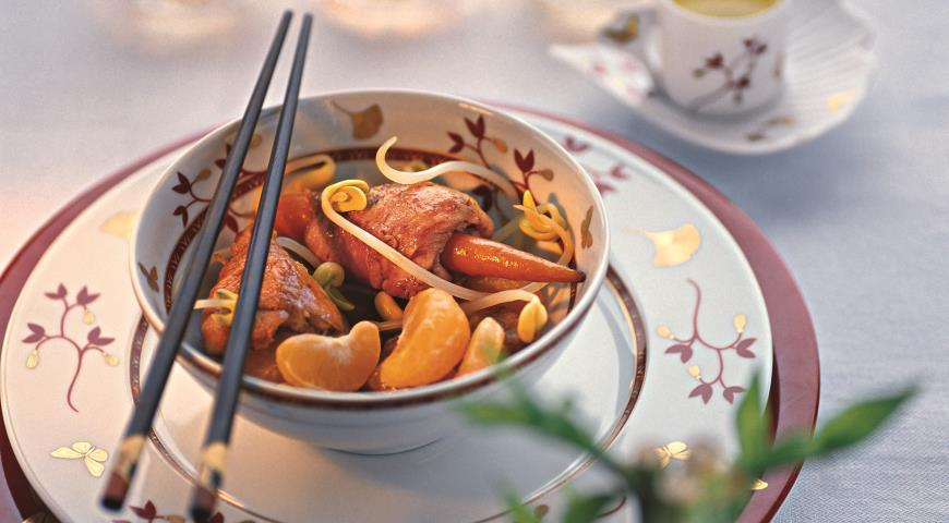 """Рецепт """"Филе для мандарина"""" по-китайски"""