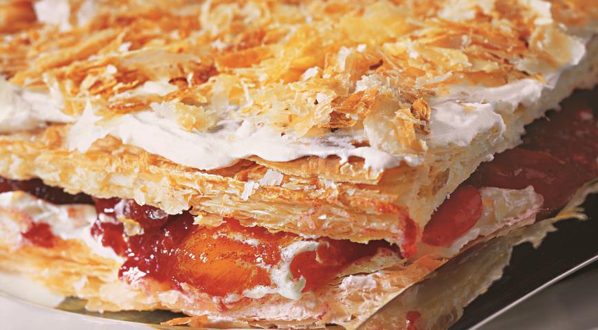 рецепт ресторанного торта наполеон пошаговый рецепт с фото