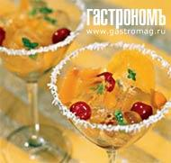 Рецепт Миндальное желе во фруктовом супе