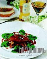 Рецепт Утиная печень с грибами