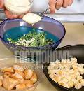 Салат с жареным цыпленком, пошаговый рецепт с фото