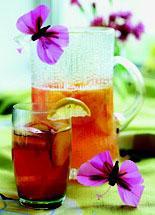 Рецепт Компот из персиков с имбирем