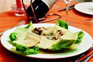Рецепт Салат из грибов и пармиджано-реджано