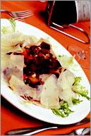 Рецепт Салат из свеклы и пармиджано-реджано