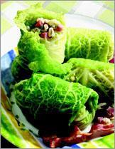Рецепт Капустные листья с перловой крупой