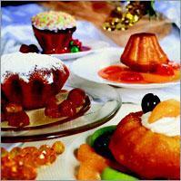 Рецепт Ромовая баба с цукатами