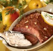 Рецепт Печеночный мусс с грушами