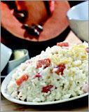 Рецепт Молочная рисовая каша с тыквой