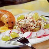 Рецепт Салат из курицы с карри