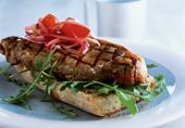 Рецепт Открытый бутерброд со стейком