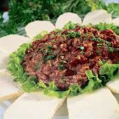 Рецепт Овощи в ореховом соусе