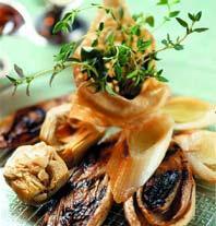 Рецепт Цикорий, артишоки и порей, тушенные в белом вине