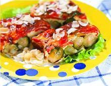 Рецепт Запеканка из брюссельской капусты с миндалем