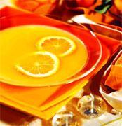 Рецепт Апельсиновое консоме